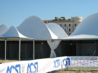 Teli di Gito e divisoria interna per formare tanti stand